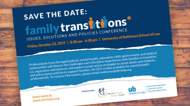 Family Transitions: <br>Issues, Solutions &#038; Policy Conference